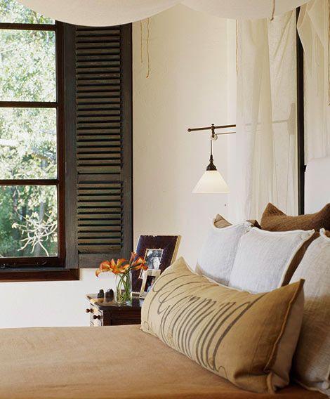 Wonderful use of interior shutters