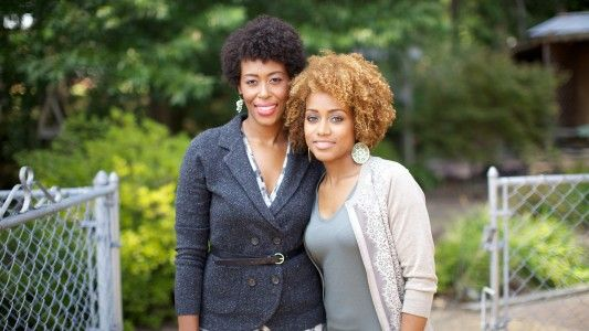 Black Girls Run founders. My inspiration to be better. (awwww!!!)