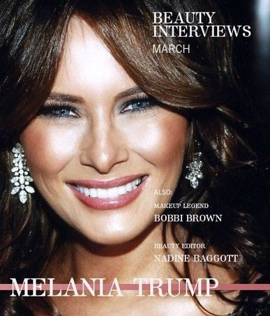 Donald Trump's BEAUTIFUL 45 year old wife Melania Trump