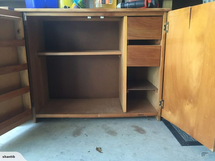 Wooden sewing cabinet | Trade Me