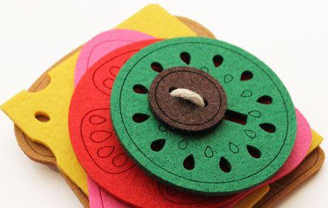 Zabawki z filcu | Pomoce edukacyjne z filcu