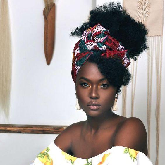 Natural Hair Queens — a beautiful woman   – Natural Hair
