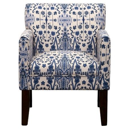 [living room] Addison Arm Chair Mumbai Blue - Threshold™, $170 at Target
