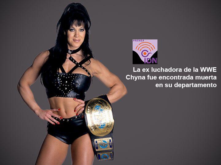 Joan Marie Laurer, mejor conocida por el nombre de Chyna fue hallada muerta por su manager, en su hogar de Los Angeles. Perteneció como miembro del equipo de luchadores D-Generation X, campeona femenina de la WWE en varias ocasiones y obtuvo dos campeonatos intercontinentales de la WWF, siendo la primera y única mujer en haberlo logrado.