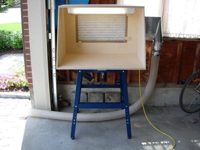 Homemade Airbrush Spray Booths Airbrush Spray Booth Diy