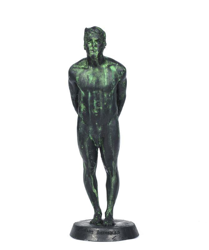 "Adriaan Diedericks / ""Figurehead (Maquette)"" / Bronze or Resin / Edition of 12 / 32 cm"