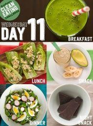 DEN 11 - přijměte výzvu a zkuste 14 denní čistou stravu