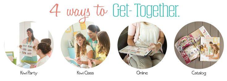 4 Ways To Get-Together - Kiwi Lane Designs www.kiwilane.com