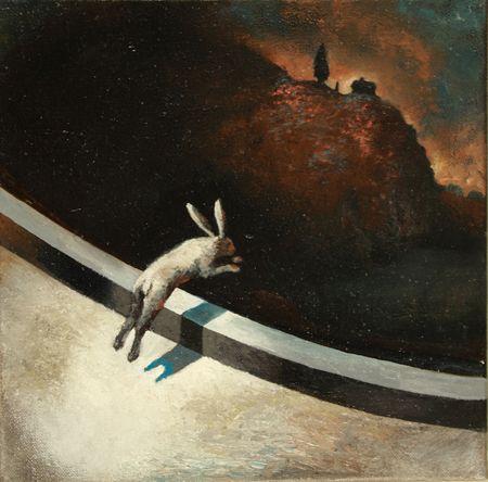 Visual artist Samuli Heimonen EDGE. Acrylic and oil on canvas. 2011