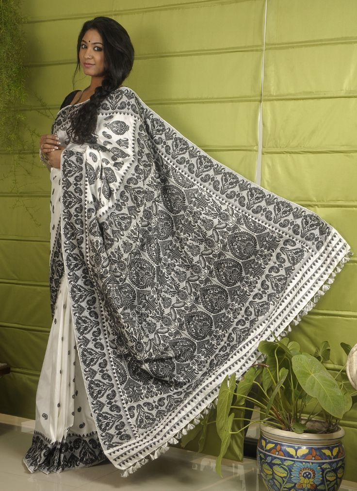Black and white Bhagirathi