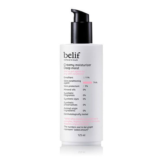 Belif Creamy Moisturizer Deep Moist 125ml TV Get it Beauty Hydrating Lotion Koea #BelifKbeautyKoreaCosmetic