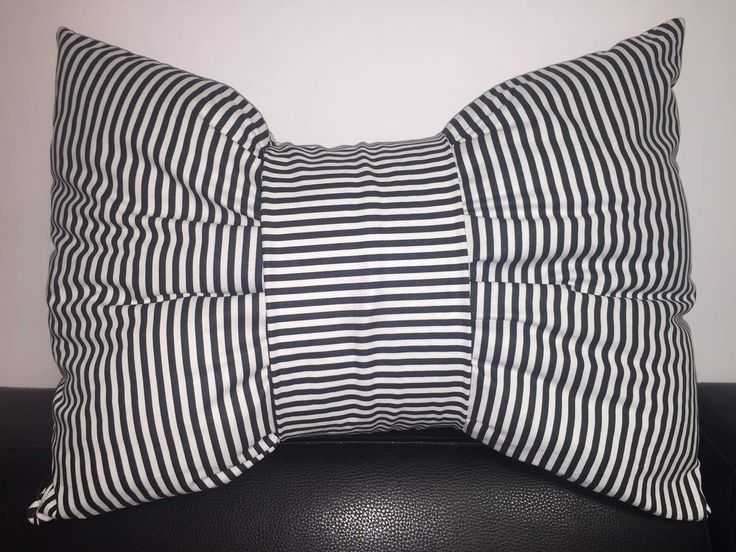 Tuto Coussin Noeud #tuto #couture #diy #emercerie