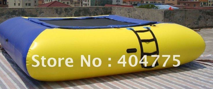 2012 лучшие продажи надувные площади батут воды + 1 бесплатно воздушный насос