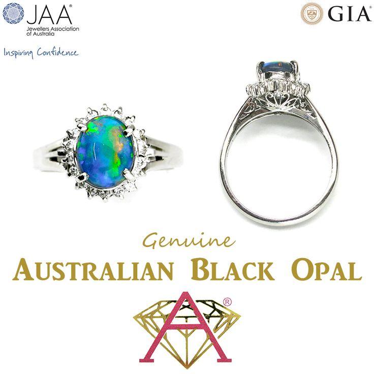 Genuine NSW Australian Black Opal.