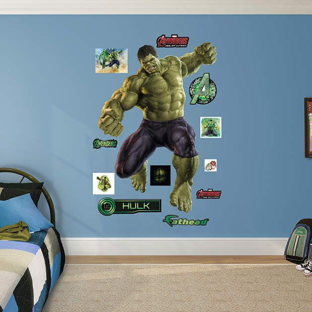 Fathead Avengers Age Of Ultron Hulk   Wall Sticker Outlet