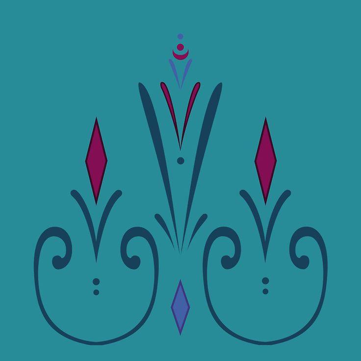 Elsa coronation dress pattern (skirt)