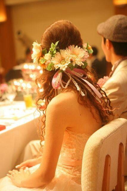 ハーフ花冠♪