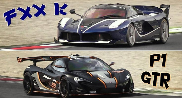 McLaren P1 GTR Vs Ferrari FXX K Leaves A Clear Aural Winner