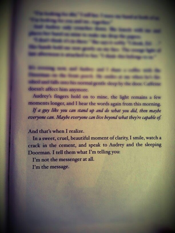 Final words from I Am The Messenger by Markus Zusak. | Quotes ...