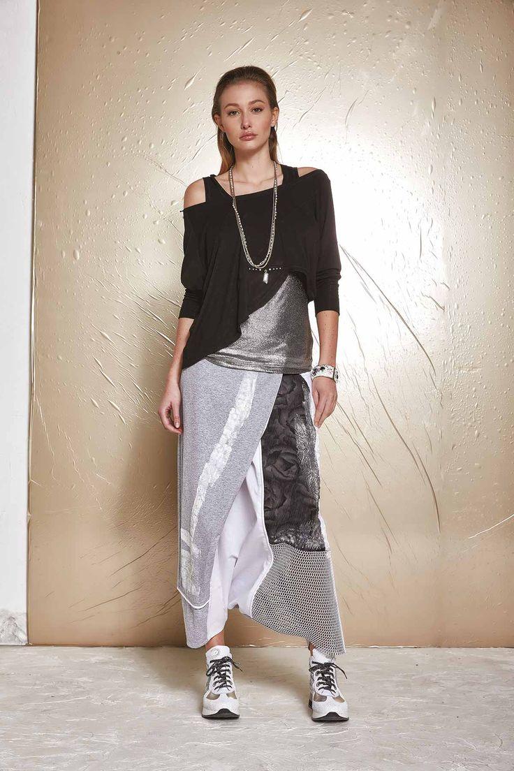 top elisa caveletti fashion moda camisola preta