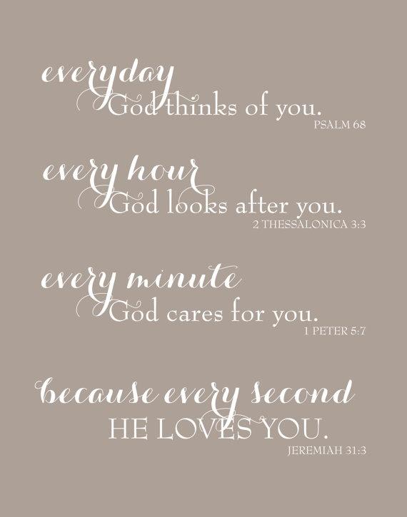Everyday God Loves You