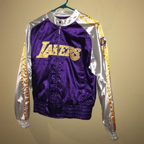 Lakers jacket! Women's size Medium Lakers jacket. Runs small. Reebok Jackets & Coats