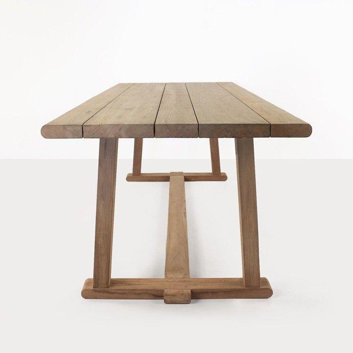 Joseph Reclaimed Teak Dining Table Design Warehouse Nz