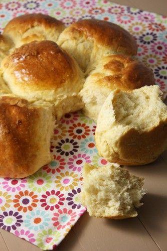 Brioche légère au yaourt #recette #brioche #facile