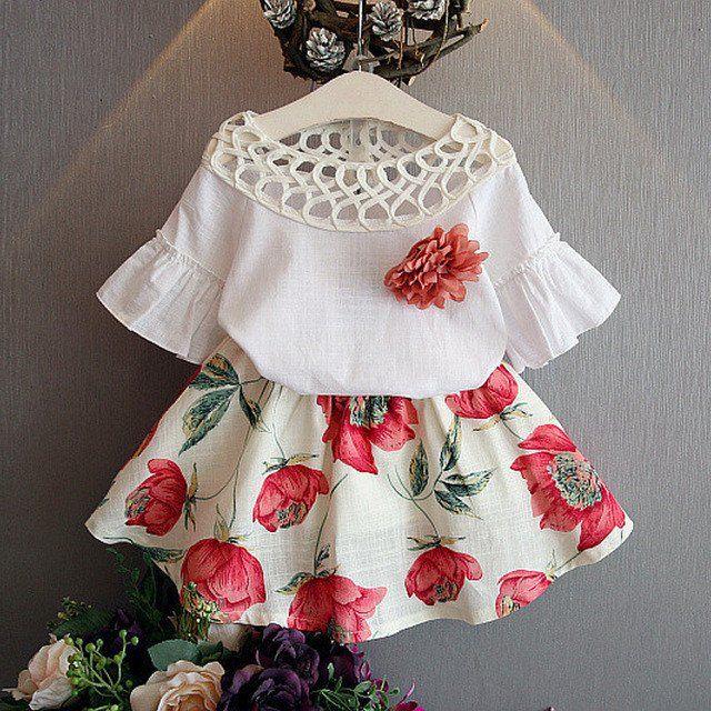 Fashion Lovely Girl Clothing Set