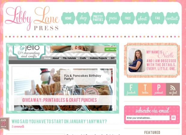 Libby Lane Press by Pretty Darn Cute Design