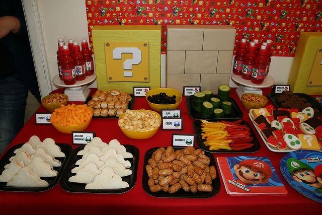 super mario bros birthday party ideas   Super Mario 5th Birthday   Flickr - Photo Sharing!