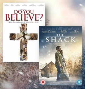 The Shack & Do You Believe? DVD bundle | Free Delivery @ Eden.co.uk