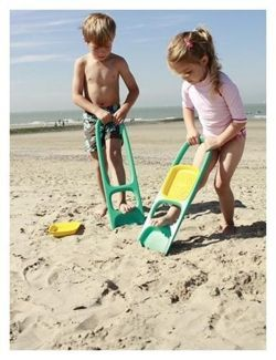Łopatka z sitkiem Budowanie zamku z piasku z taką łopatką to sama przyjemność!