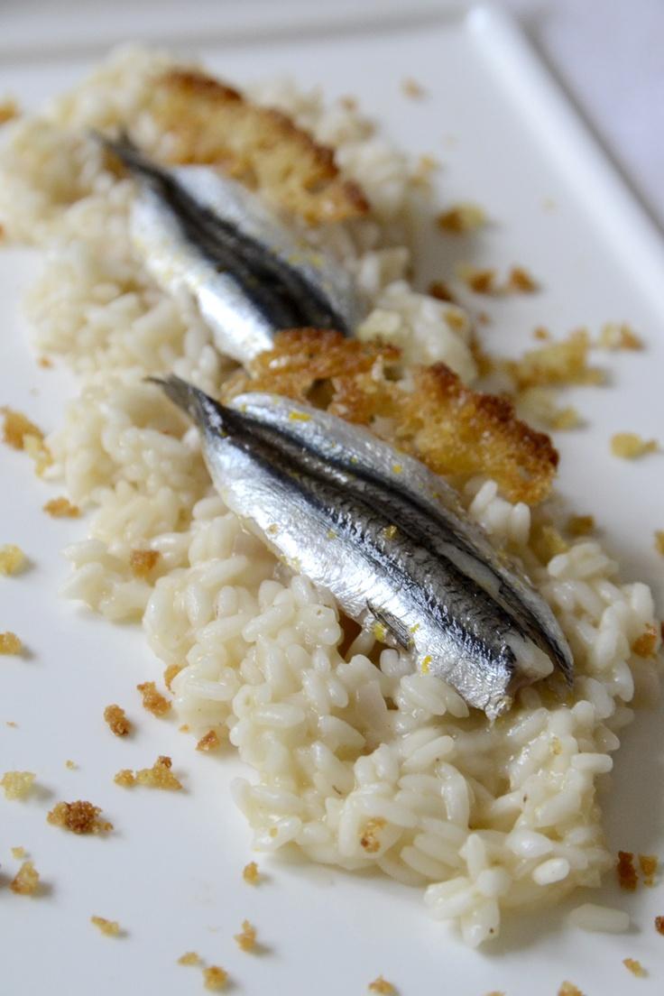 risotto aux anchois