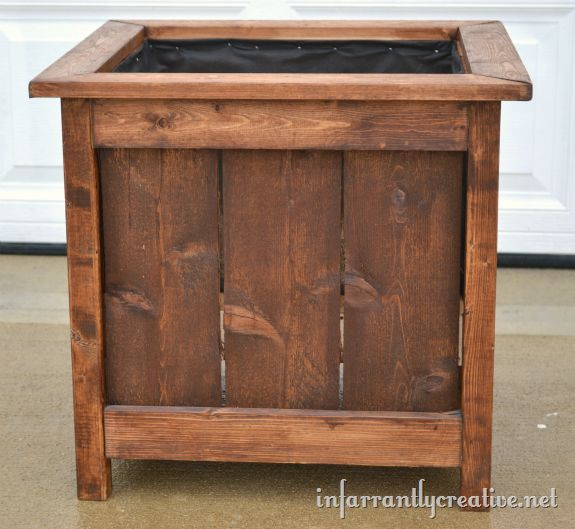 33 Best Images About Wood Planter Tree Box On Pinterest: 13 Best Barn Wood Planters DIY Images On Pinterest