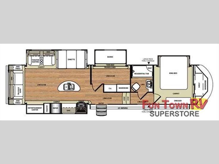 Best Dream Camper Images On Pinterest Rv Life Rv Living And - Forest river 5th wheel floor plans