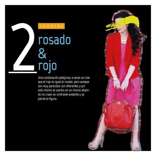 #fashionrules #pink&red #prohibido