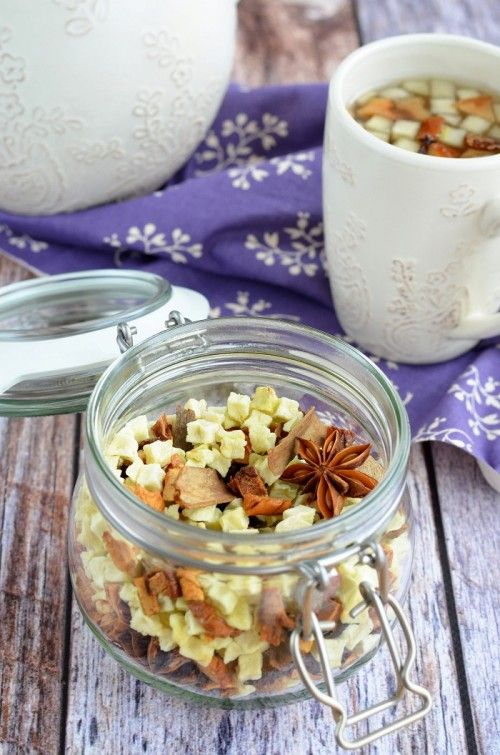 Fűszeres almatea-keverék recept