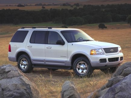 #15... 2002 Ford Explorer - not very dependable suv. Brooke down a lot only drove it for a couple years traded it off at 85k..