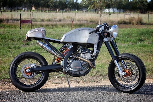 KTM 250EXC-F Cafe Racer