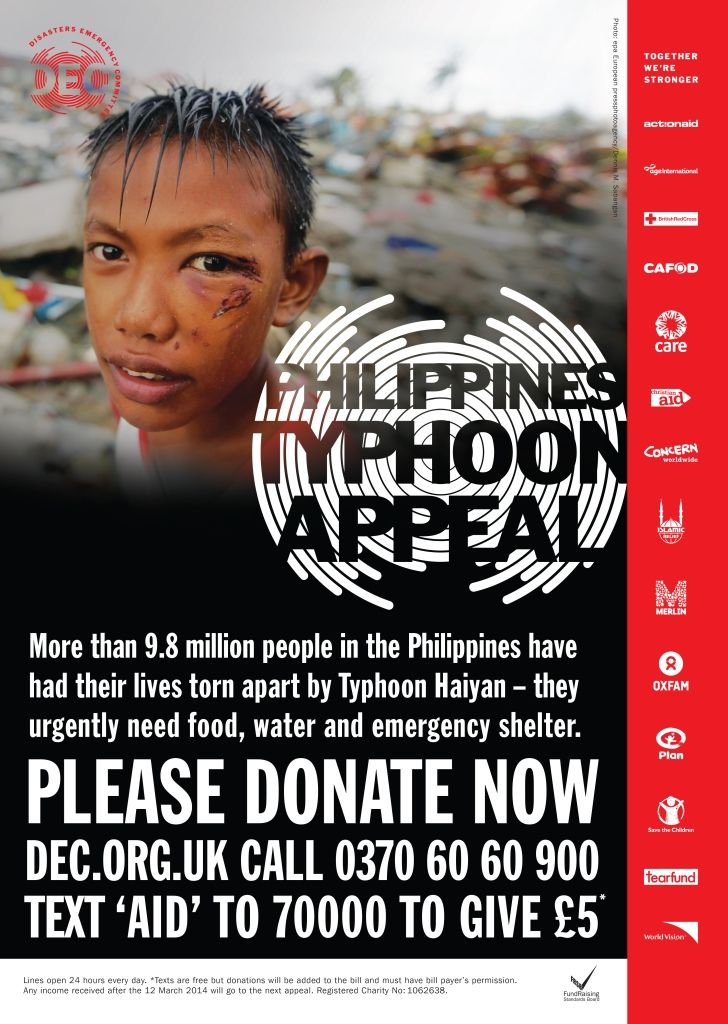 OpenMarket DEC Philippines Typhoon SMS appeal