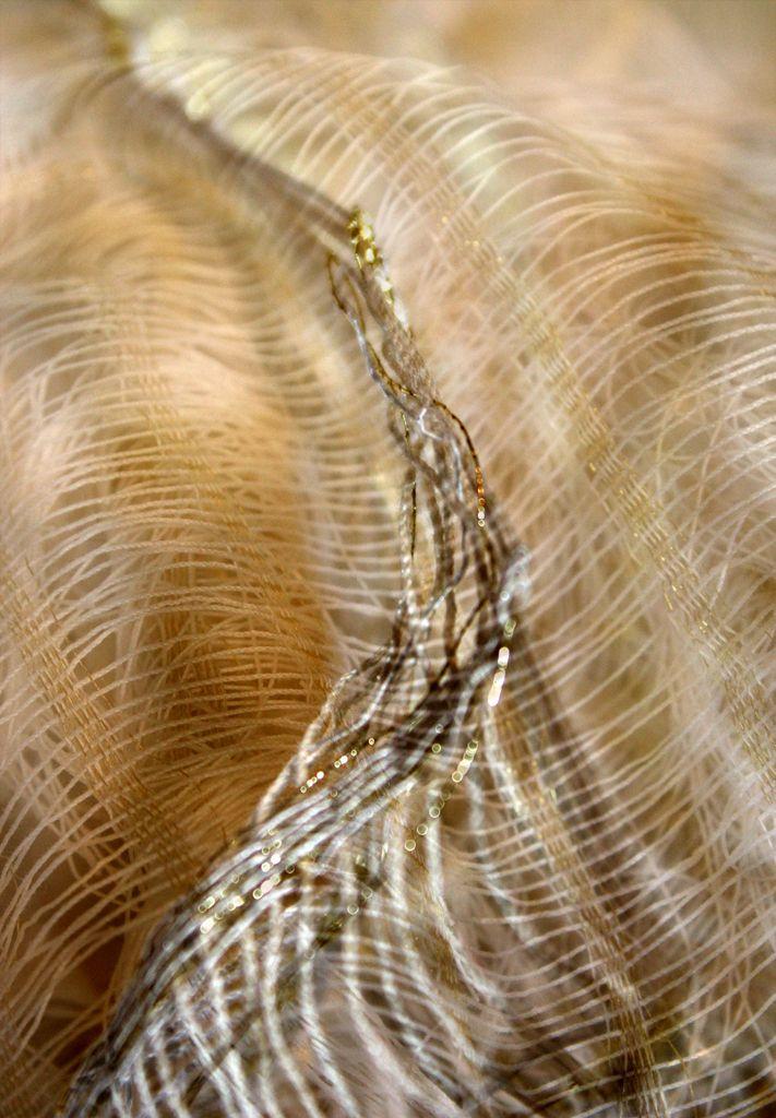 #WOT #Art - World of Threads Festival - Shimmer (detail) by Catherine Dormor from the United Kingdom.  Photo: C Dormor