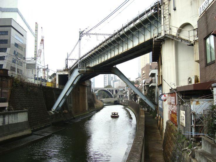 Un pont à Tokyo  © Stefan Liberski