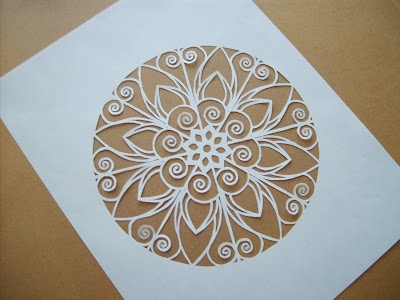 Paper cut by Paper Lavender