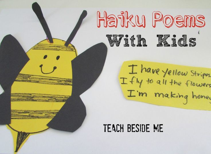 Haiku Poems With Kids at Teach Beside Me