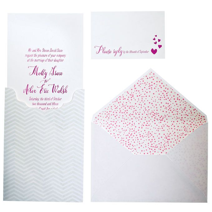 Brides: Wedding Invitation and Bouquet Pairings | Invites & Stationery | Wedding Ideas | Brides.com