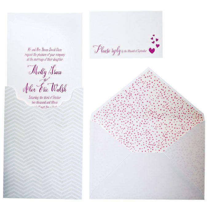 Brides: Formal Foil-Stamped Wedding Invitation