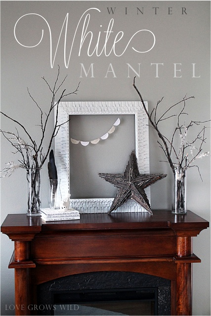 Images about fireplaces mantels decorated
