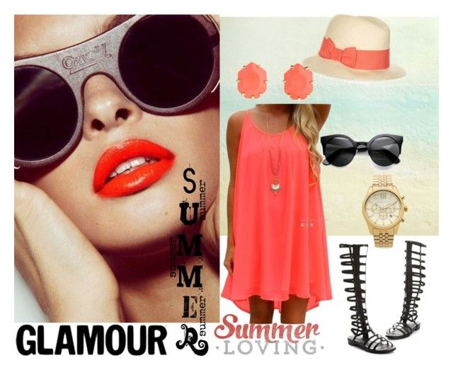 """""""Glamour summer"""" by dianaf-1 on Polyvore"""