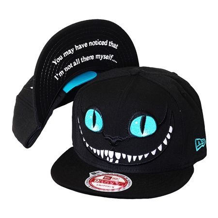 Boné New Era Snapback Cheshire Cat Alice in Wonderland